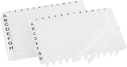 neolab 7–520196Well PCR placa de borde completo, perfil bajo, transparente (50unidades)