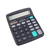 Xiton12 chiffres Calculatrice bureau Jumbo Grands boutons solaire Bureau Business Financial Accounting