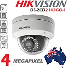 HIKVISION DS-2CD2143GO-I 4MP IP POE IR 2.8mm Outdoor Security Camera