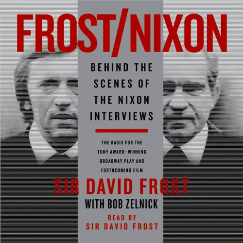 Frost/Nixon audiobook cover art