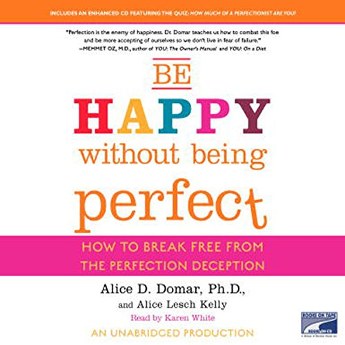 Be Happy Without Being Perfect cover art