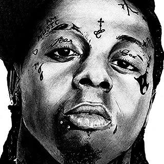 Lil Wayne Face Tattoos Set | Temporary Tattoos | Halloween Costume | Skin Safe