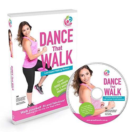 DANCE That WALK – 5000 Steps in One Easy Low Impact Walking Workout DVD (PAL)