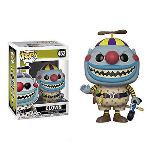 Funko Pop Movies : The Nightmare Before Christmas : Clown 3.75inch Vinyl Gift for Anime Fans SuperCollection