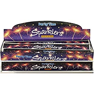 Giant 40cm Party Time Sparkler - Pack of 30
