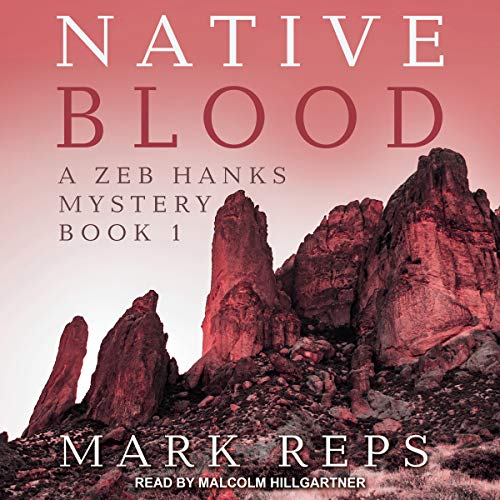 Native Blood audiobook cover art