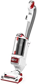 (Renewed) Shark Rotator Professional Upright Corded Bagless Vacuum for Carpet and Hard Floor with Lift-Away Hand Vacuum and Anti-Allergy Seal (NV501), White with Red Chrome