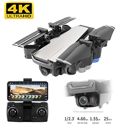 4K Drone Met Dubbele Camera, 5G Wifi FPV Remote Control Quadcopter Voor Volwassenen, GPS En Optical Flow Positioning, Camera, Instelbaar, Binnen En Buiten Flight Mode