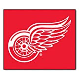 "Fanmats NHL Detroit Red WingsナイロンRug 60""72"" 10378"