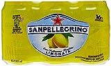 San Pellegrino Agua con Gas con Sabor A Zumo De Limón Cajas Pack De 6 X 33 2 Cllot