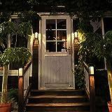 Ziyi antorchas de Jardin,luz Jardin Solar,Iluminación Solar para el hogar,batería Ni-MH incorporada,Interruptor de Resistencia,Material ABS