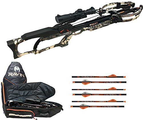 Ravin R20 Crossbow Package, Crossbow Case, 6 Arrows (Predator Camo)