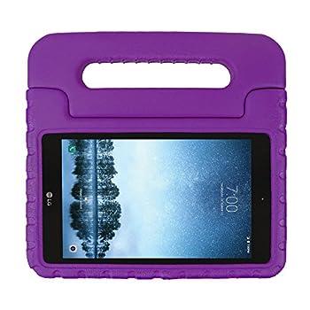 SIMPLEWAY Case for LG G Pad F2 8.0 Case / LG G Pad X2 8.0 Plus Lightweight Kid-Proof Handle Stand Cover Fit LG GPad F2 8.0 Sprint LK460 / LG GPad X2 8.0 Plus V530 8inch Tablet 2017 Release  Purple