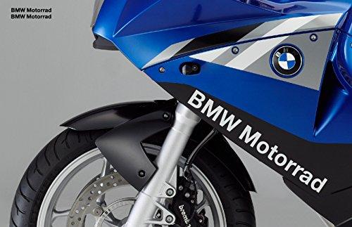 snstyling.com Pegatina para Encajar BMW Motorrad Pegatina 40cm 2 Piezas Conjunto (Blanco)