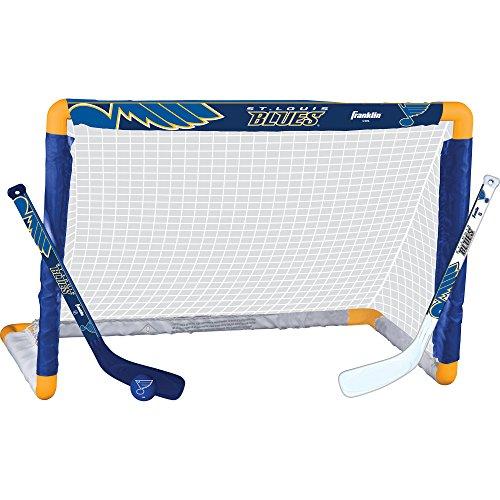 Franklin Sports NHL St. Louis Blues Team Mini Hockey Set