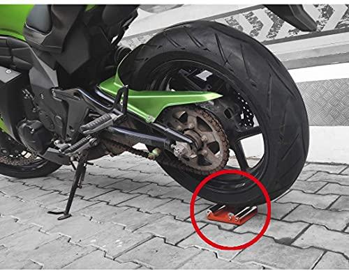 Grand PitStop Motorrad-Reinigungsständer - Paddock Stand Ersatz - Rollenständer für Reifenreinigung & Kettenschmierung - GRoller (Mittel (Fahrräder < 485 lb & Reifenbreite <180 mm))