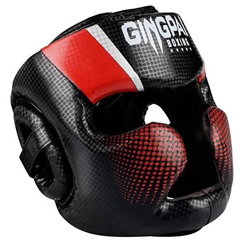 ZHXQ Head Guard,Kinder Kopfschutz für Boxen,Boxhelm Gesichtsschutz für Gesichtsschutz,Kampfsport,Kickboxen,Boxhelm für Sparring,Muay Thai,Karate und Taekwondo Headgear