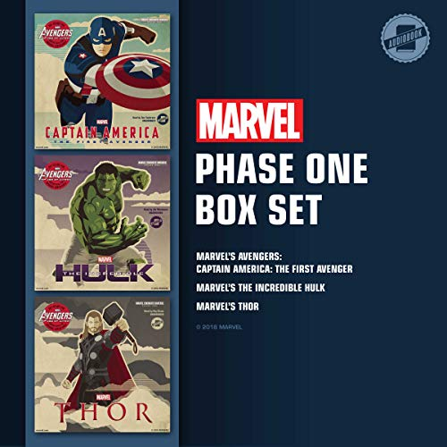 Marvel's Phase One Box Set audiobook cover art