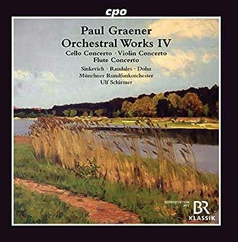 Graener: Orchestral Works, Vol. 4