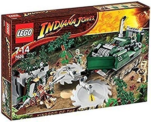 LEGO - 7626 - IndianaJones - Jeux de construction - Le débroussailleur de la jungle