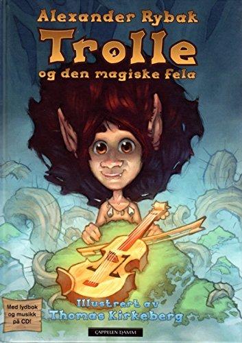 Buch + Hörbuch + CD ALEXANDER RYBAK - Trolle Og Den Magiske Fela (norwegisch)