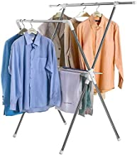 Clothes Rack Outdoor Drying Racks, Balcony Indoor Small Clothes Storage Rack Sheets Towel Drying Rack Folding Drying Rack ...