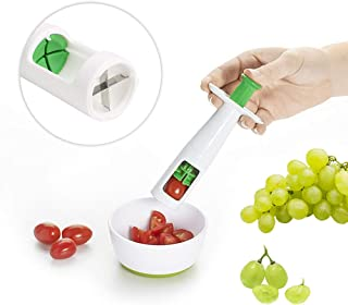 ORYX Grape Cutter, Grape Slicer for Kids Cherry Tomato Grapes Seedless Salad Rapid Slicer Fruit And Vegetable Cutter Cooking Tool
