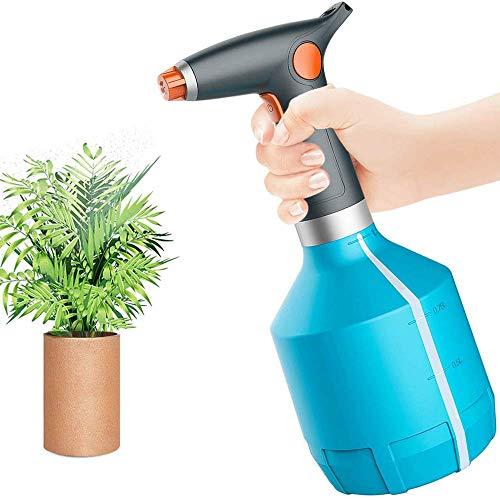 FiiMoo Elektrische Sprühflasche für Zimmer- / Garten Pflanzen, Elektrische Gießkanne, Automatische Wässerungs Flasche für Alkohol, Reinigung nach Hause, 1000ML Garten Hand Tiny Auto Sprayer (Blau)