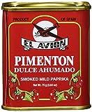 El Avion Pimenton Dulce Ahumado, 1er Pack (1 x 75 g)
