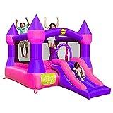 Happy Hop- Castle Bouncer with Slide, 9017P, Multicolore - Version Espagnole