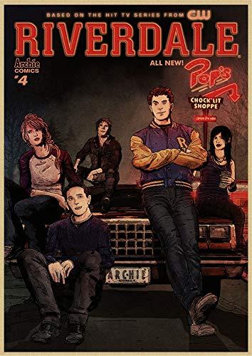 h-p Riverdale Serie De TV Película Lienzo Arte Pintura Al Óleo Cartel...