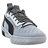 PUMA Mens Legacy Low Basketball Sneakers Shoes Casual - Grey - Size 10.5 D