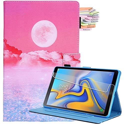 Billionn Für Samsung Galaxy Tab A7 10.4 Hülle 2020, PU Leder Klappständer Cover für Galaxy Tab A 7 (SM-T500/T505/T507 2020) mit Auto Sleep/Wake, Sunrise