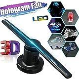 GAXQFEI Hppbody 3D Holográfico Ventilador Ventilador 640P Resolución 320 Led Holograma Pantalla Pantalla de Publicidad de 17 Pulgadas Pantalla de Proyector de Aire para Evento E de Empresas Publicida