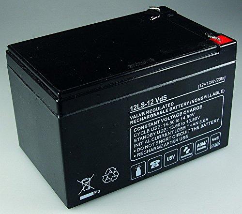 Q-batteries batterie 12 v/12 ah