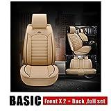 WWSHM Seggiolino auto universale universale in pelle 360 ° Full Surround Sedile di lusso Sedile posteriore diviso + Airbag Compatibile con seggiolino auto staccabile regolabile (Color Name : E1)