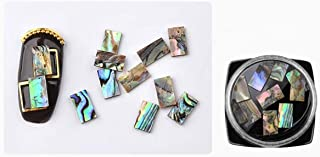1 Pc Seashell Crushed Shell Gradient Marble Stones Nail Art Rhinestone Pretty Popular Nails Crystal Set Painting Pen Brushes Stamping Plates Tools Water Transfer Acrylic Heart Halloween Tips, Type-05