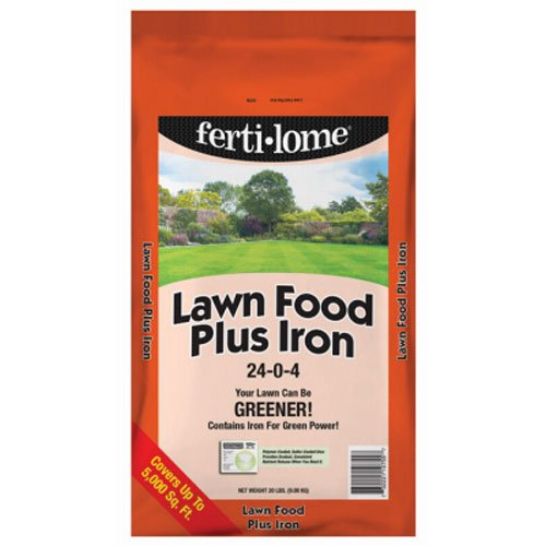 Voluntary Purchasing Group  10755 Fertilome Lawn Food Plus Iron, 20-Pound