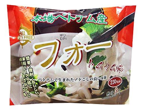 インターフレッシュ フォー(米粉麺)トムヤム味袋麺 60g×10袋