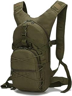 Dengyujiaasj Backpack, Climbing Hiking Backpack for Cycling Tenting, Raincoat Tactical Bag, Backpack, 15L Outside Tactical...