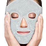 PerfeCore Facial Mask - Get Rid of Puffy Eyes - Migraine Relief, Sleeping, Travel Therapeutic Hot...
