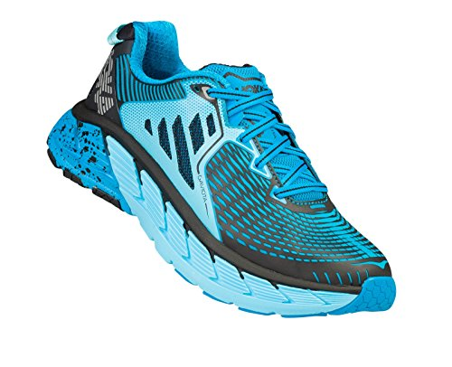 HOKA ONE ONE Women's W Gaviota (6 B(M) US, Atomic Blue/Bluefish)