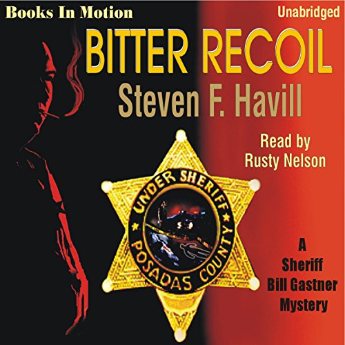 Bitter Recoil audiobook cover art