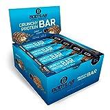 Bodylab24 Crunchy Protein Bar 12x64g | Knuspriger Protein-Riegel mit 20g Eiweiß pro Riegel | High...