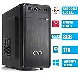 - CeO Alpha V1 - PC Desktop AMD 200GE 3.20GHz 4MB Cache   8GB Ram DDR4   1TB Hard Disk  Scheda...