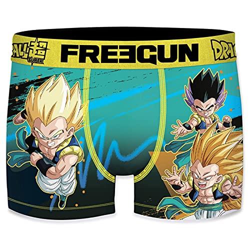 Freegun Dragon Ball Super - Calzoncillos para hombre, Gotenk, S