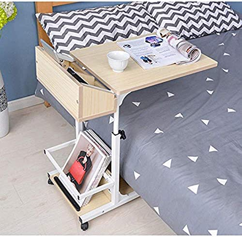 Mini Bedside Laptop abnehmbare Kaffee Sofa Side-40  50  55-80cm Multifunktion,B