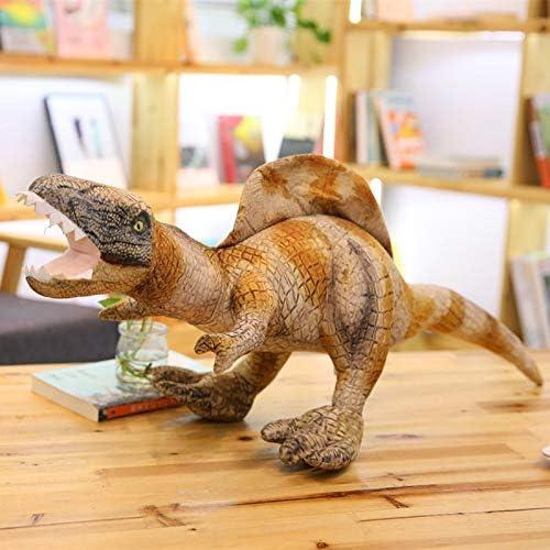 Mjia pilFaible Peluche Gros Oreiller calin Doux Animaux en Peluche,poupée simulée de Dinosaure,Jouet en Peluche pour Enfants,Sting Dragon,120CM