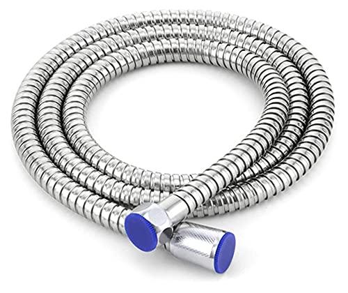 Lwbkd Ducha de alta presión de 300 orificios con soporte conjunto de ducha de manguera de ahorro de agua (Color : Shower hose)