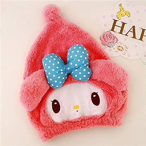 Stuffe'd & Plush Animals - cartoon dual-use dry hair cap plushie water absorption quick-drying wipe head toys for girls home decor free stuff (13 40cm) LATT LIV